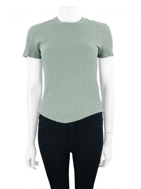 Blusa Mixed Cotton Verde