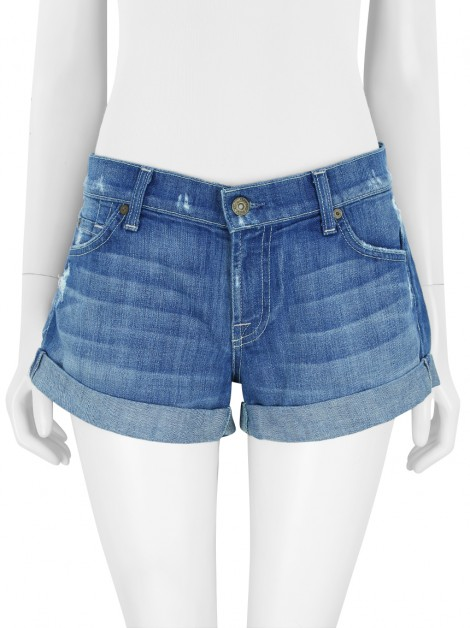 Shorts Seven For All Mankind Roll Up Jeans