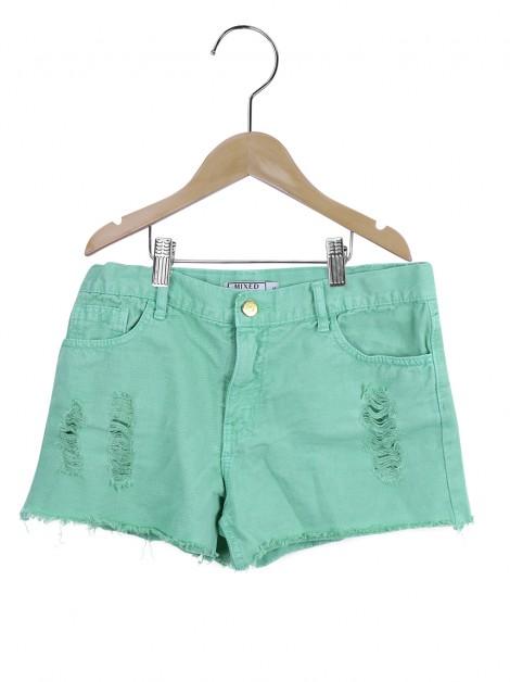 Shorts Mixed Verde Infanto Juvenil