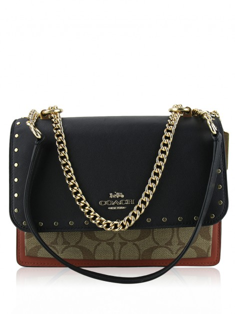 Bolsa Coach Klare In Signature Colorida