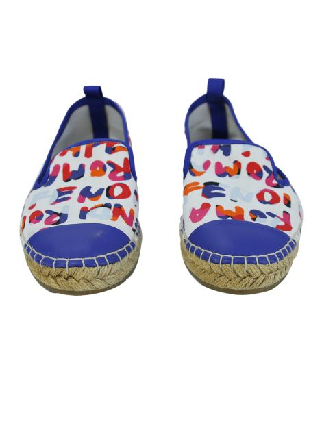 Espadrille Fendi Canvas Estampada