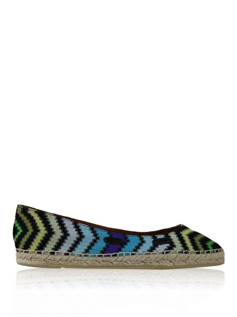 Slipper Missoni Espadrille Estampa Zig-Zag