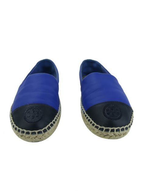 Espadrille Tory Burch Couro Bicolor