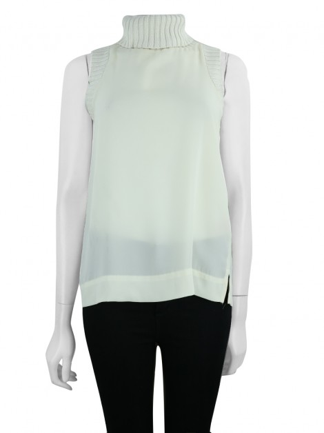 Blusa Juicy Couture Gola Creme