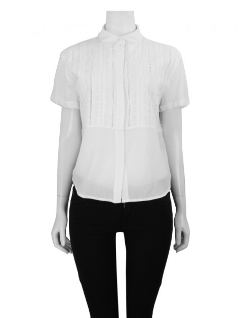 Blusa FRAME Button Up Branca