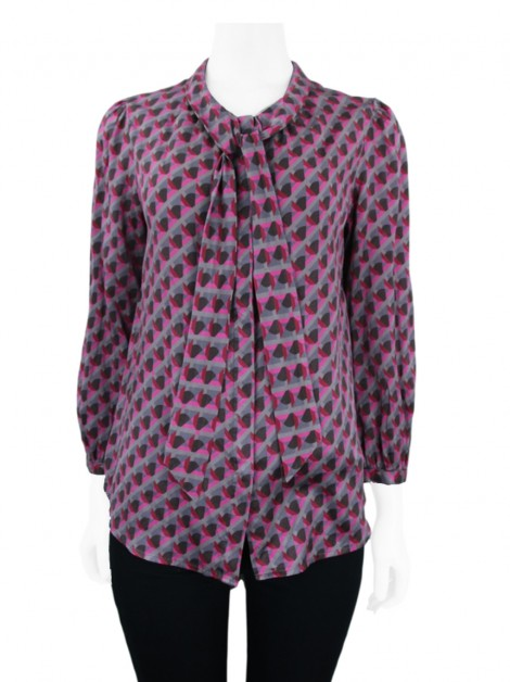 Camisa Marc By Marc Jacobs Seda Multicolor