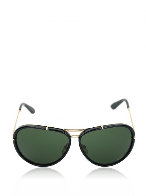 Óculos Tom Ford Cyrille TF109 Aviador Preto