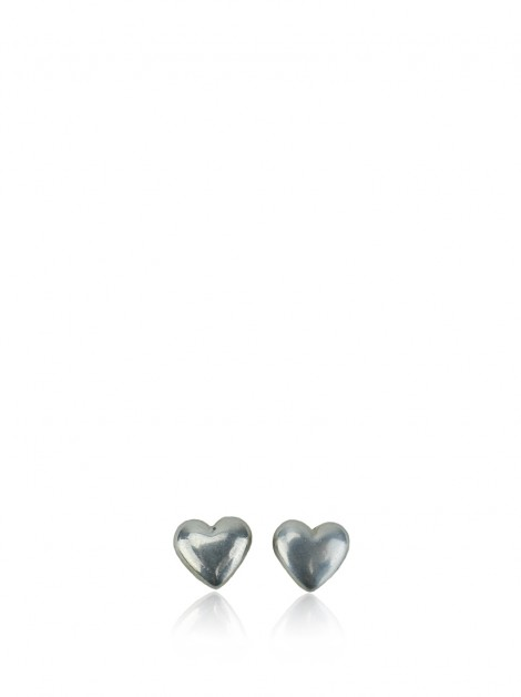 Brinco Tiffany & Co Puffed Heart Prata