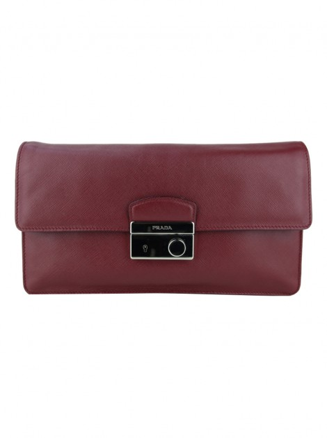 Clutch Prada Sound Cerise
