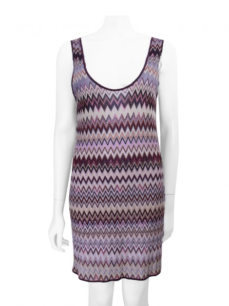 Vestido Missoni Chevron Lurex