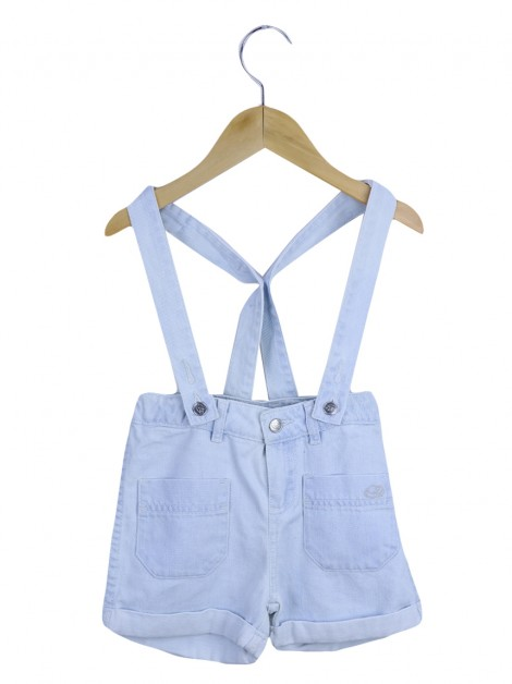 Shorts Little Marc Jacobs Jeans Azul Infantil