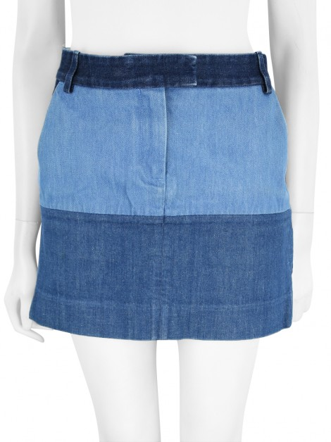 Saia Celine Patchwork Denim