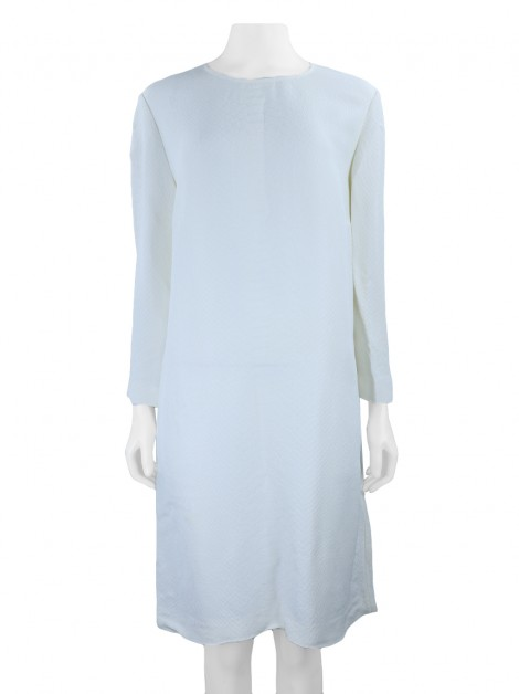 Vestido Stella Mccartney Texturizado Off White