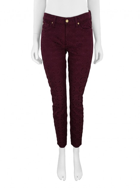 Calça Seven For All Mankind Ankle Gwenevere Marsala