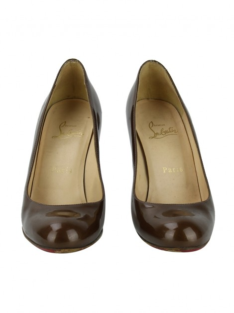 Sapato Christian Louboutin Simple Pump Verniz