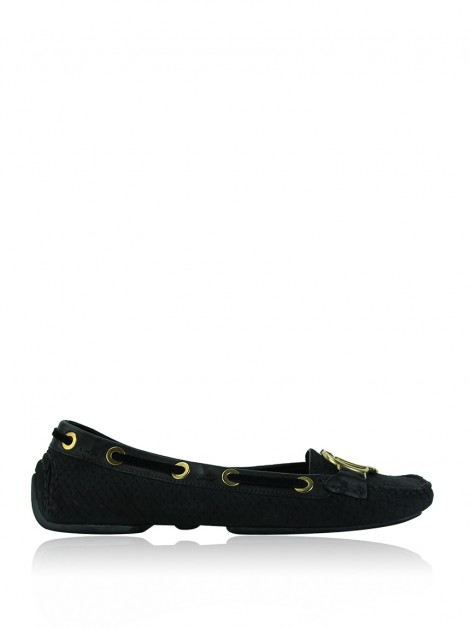 Sapato Christian Dior CD Loafers Preto