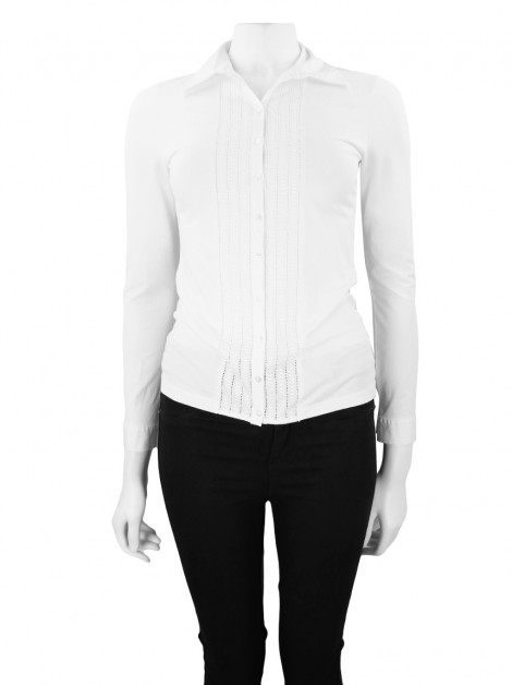 Camisa Anne Fontaine Maggy Branca