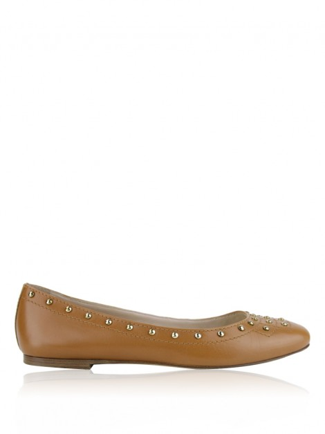 Sapatilha Tod''s Couro Studded Marrom