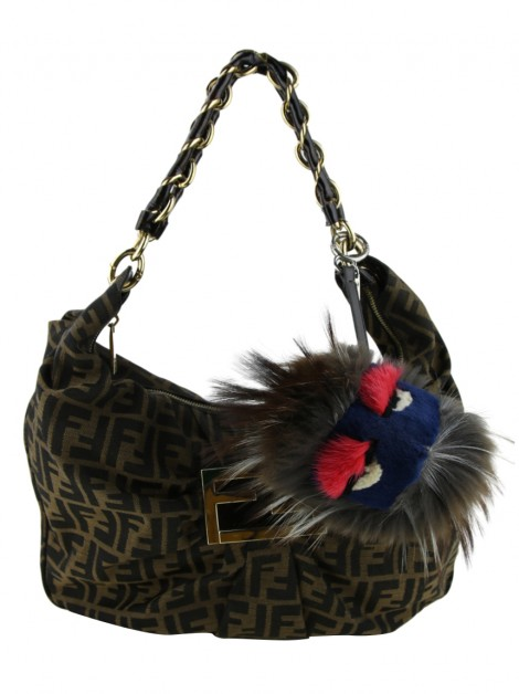 Chaveiro Fendi Fur Freak Monster Bag Bug Charm