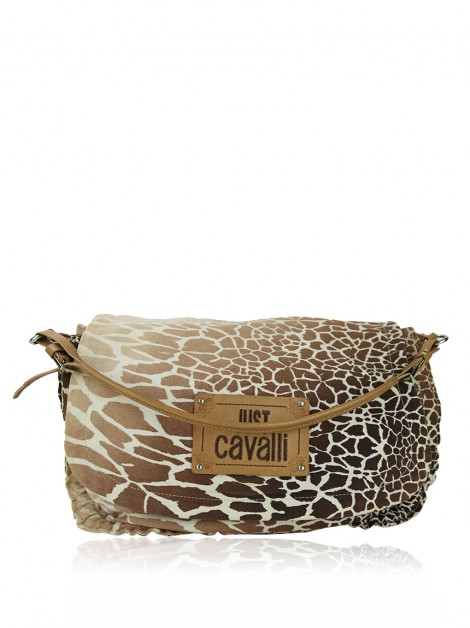 Bolsa Just Cavalli Tecido Animal Print
