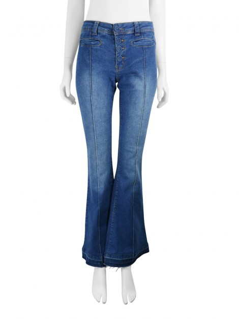 Calça Mixed Flare Jeans