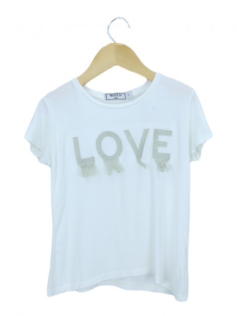 Blusa Mixed Kids T-Shirt Love Infantil
