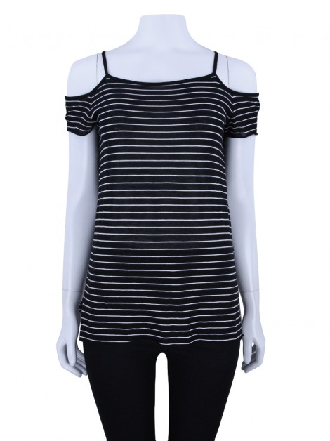 Blusa All Saints Tyra Listrada
