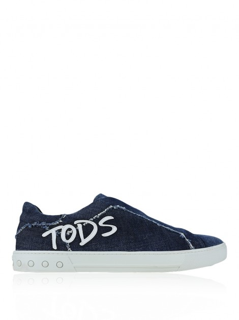 Tênis Tod''s Denim Slip On Limited Edition