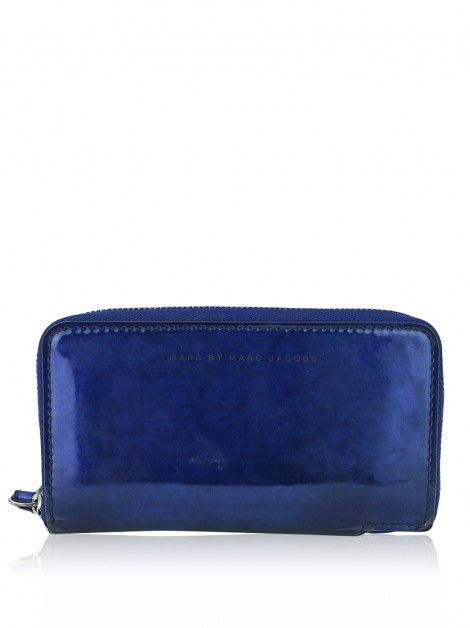 Carteira Marc By Marc Jacobs Techno Holographic Wingman Wristlet