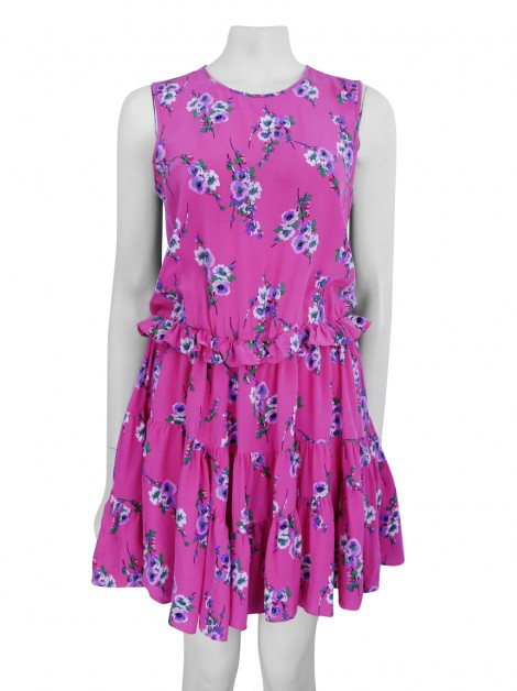 Vestido Juicy Couture Seda Estampado