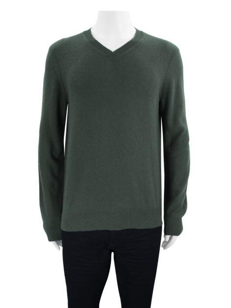 Casaco Theory Suéter Cashmere Verde Masculino