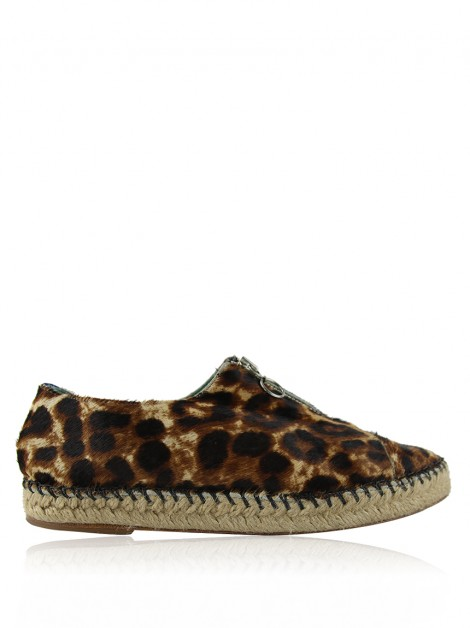 Espadrille Blue Bird Animal Print