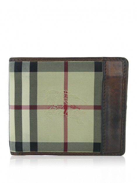 Carteira Burberry House Check Bifold Masculino