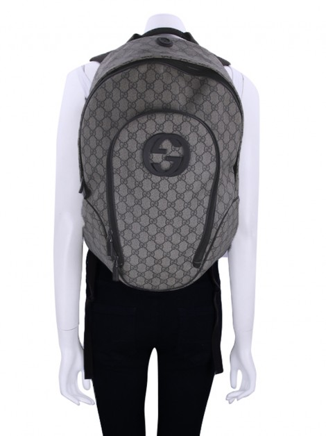 Mochila Gucci Interlocking G Monograma