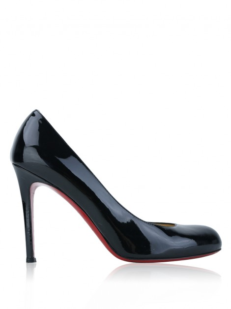 Sapato Christian Louboutin Simple Pump 100 Preto