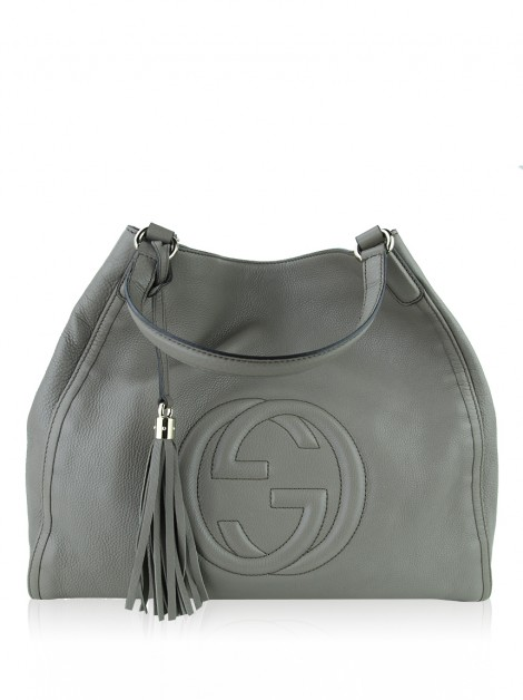 Bolsa Gucci Large Soho Shoulder Etoupe