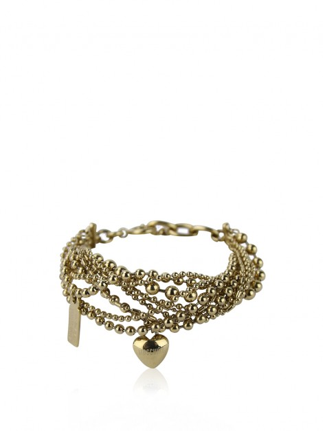 Pulseira Moschino Cheap and Chic Dourada