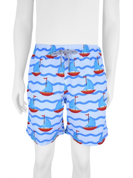 Shorts Short Co Barcos Masculino