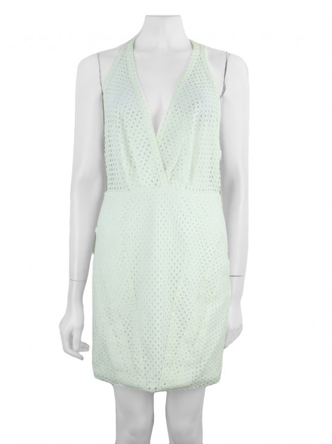 Vestido Cris Barros Renda Off-White