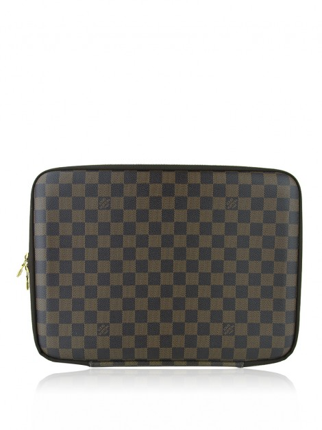 Case para Notebook Louis Vuitton Damier Ebene 13