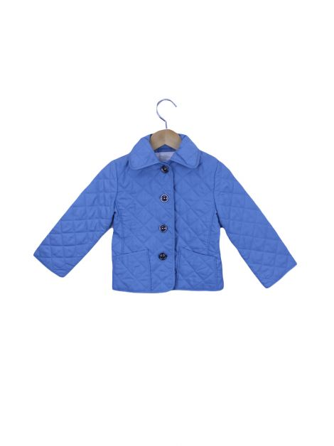Jaqueta Burberry Children Nylon Azul Toddler