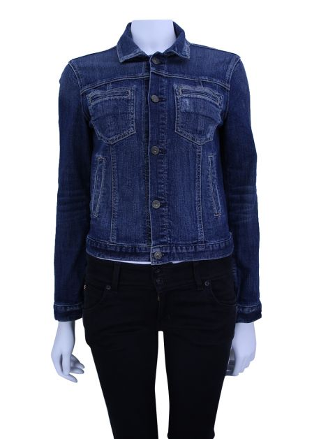 Jaqueta Seven For All Mankind Jeans Azul