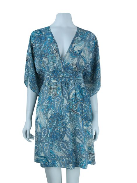 Kaftan Brooksfield Donna Seda Estampado