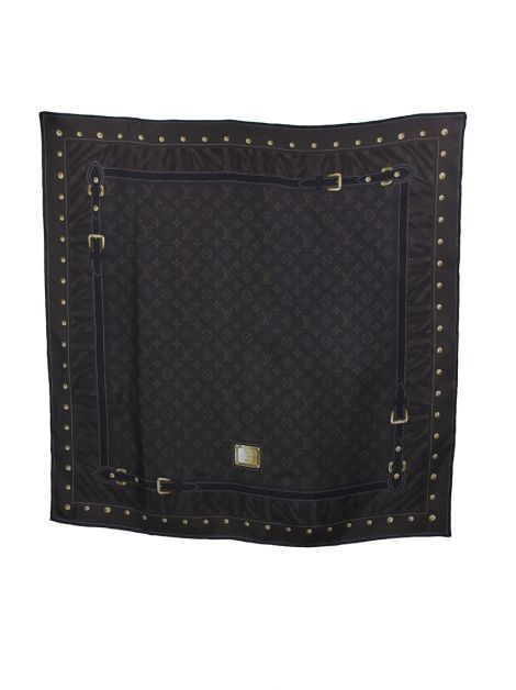 Lenço Louis Vuitton Trunk Seda