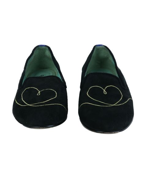 Loafer Blue Bird Love Is All Preto
