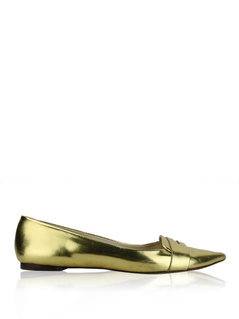 Loafer Kate Spade Pointed Dourado