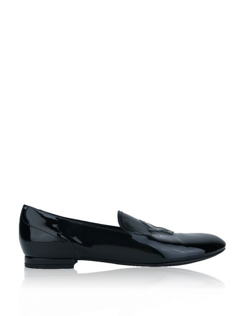Loafer Louis Vuitton Verniz Preto