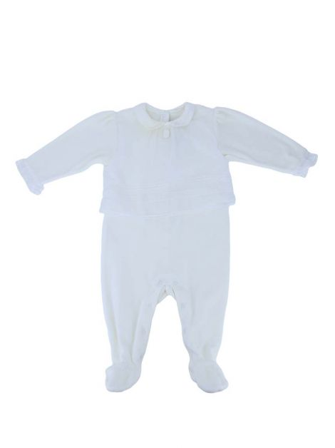 Macacão Christian Dior Plush Off White Baby