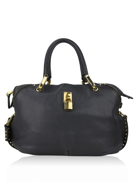 Marc Jacobs Rio Studded Zipper Tote Grafite