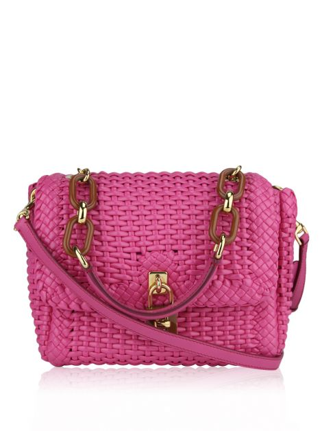 Bolsa Dolce & Gabbana Miss Dolce Woven Coated Leather